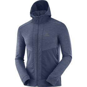 Salomon Outline Midlayer Jacket Herren night sky heather